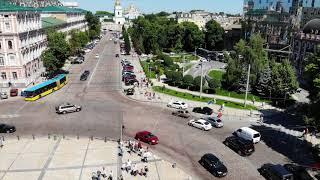 Прогулка по Киеву с детьми и внуком!!!!