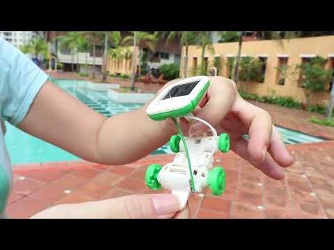 6-in-1 Solar Toy Robot Kit for Kids' Education