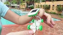 6-in-1 Solar Toy Robot Kit for Kids' Education
