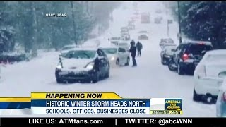Extreme Winter Storm Hİts the Northeast