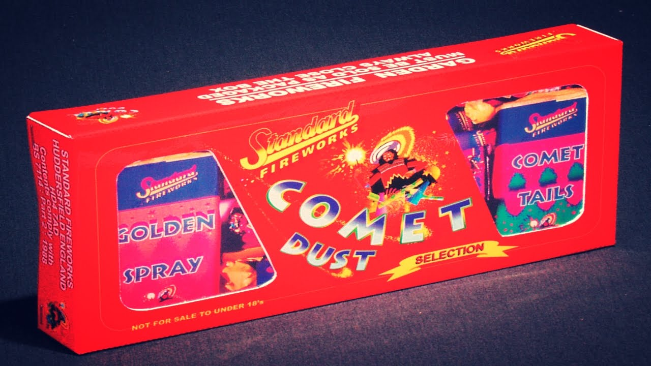 Comet Dust Selection Box by Standard Fireworks - YouTube
