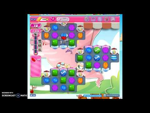 Candy Crush Level 2289 help w/audio tips, hints, tricks