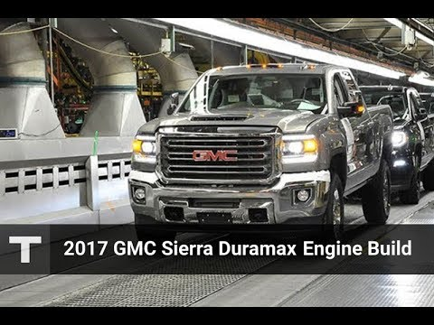GM Builds the Duramax Diesel Engine for the 2017 GMC Sierra 2500 Pickup Truck