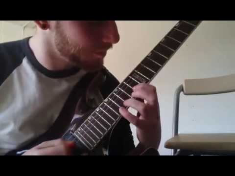 Legato, tapping and harmonic minor run