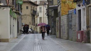Aranda de Duero vive la primera jornada de su tercer confinamiento