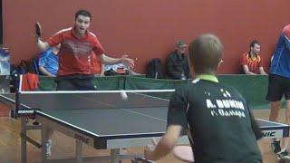 Максим САВИНОВ - Андрей БУКИН, Настольный теннис, Table Tennis