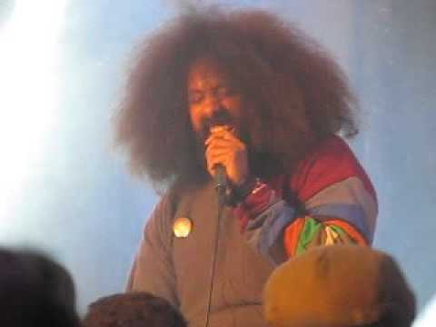 Reggie Watts 1 DTLA Art Walk 2016 Night on Broadway