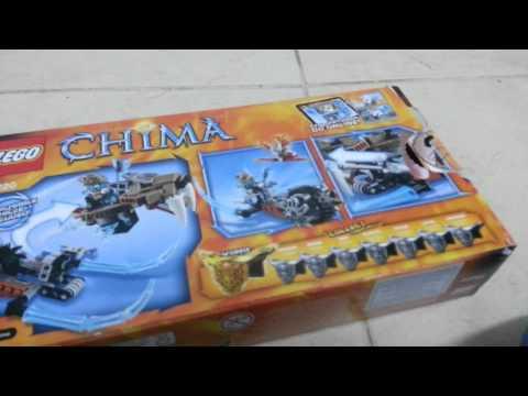 הוראות חדשות סוגי לגו:צ'ימה-8-הג'יפ של סטרינור 70220,חלק א' - YouTube AF-62