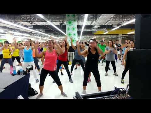 zumba exercise: boombastic