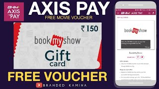 Download Video Axis Pay Offer ||Recharge➡️10₹  & Get Free➡️150₹/-  BookMyShow Voucher || Free Movie Ticket Trick || MP3 3GP MP4