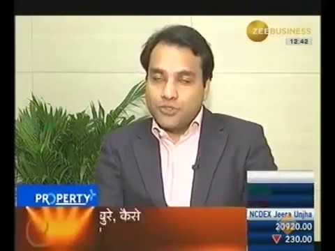 Abhishek Bansal on Zee Business Property Show