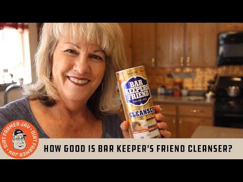 How Good is Bar Keeper's Friend® Cleanser?