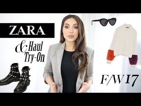 Huge ZARA Try-On Haul | Killer Pieces For Fall & Winter You Should Have Too!