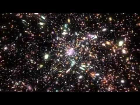 The Cosmos - Dark Matter, distant Galaxies, Hubble deep field