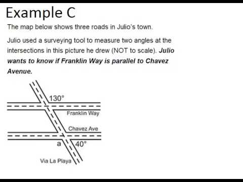 Alternate exterior angles examples geometry concepts - Definition of interior and exterior angles ...