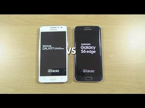 Samsung Galaxy Grand Prime VS Galaxy S6 Edge
