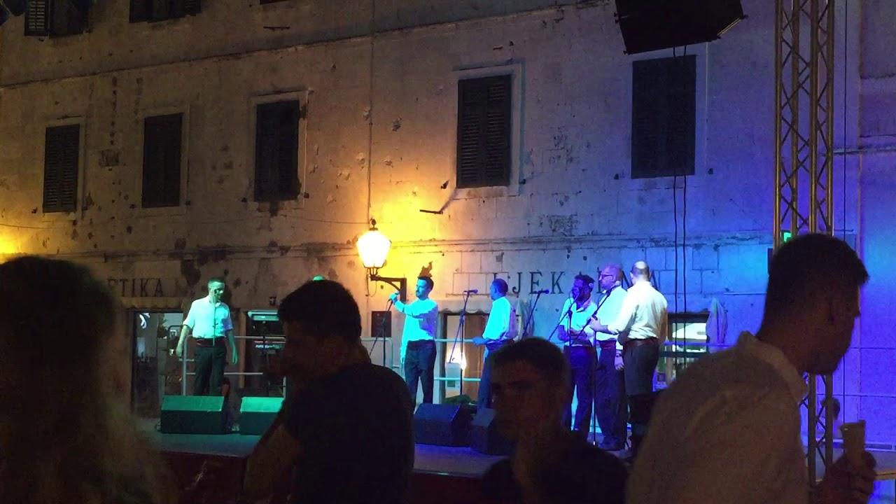Dalmatinska Lipa Pismo Moja Klapa Sufit Makarska 20 Jul 2018