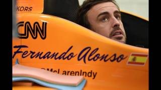 Fernando Alonso getting ready for first Indy 500 test