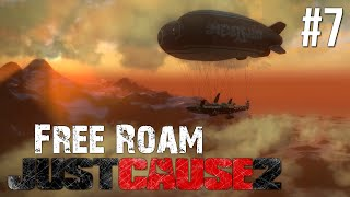 Just Cause 2 Free Roam Gameplay #7 - Mile High Fail! (Just Cause 3 Hype)