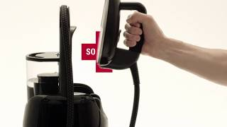 Steam your Clothes in Minutes with the Laurastar LIFT Plus Black Steam Station | The Good Guys