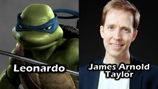 Characters and Voice Actors - TMNT (2007)