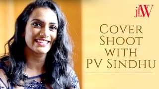 JFW Cover Shoot with PV Sindhu | October 2016 | Just For Women Photoshoot