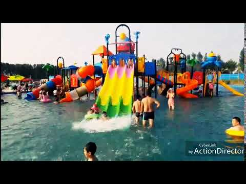 Outdoor Water Playground Equipment For Swimming Pool!!!