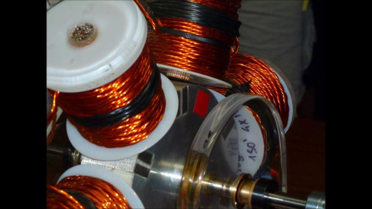 Bedini Energizer 6 Coiler Photos - YouTube