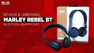 Review amp Unboxing Marley Rebel BT Bluetooth Headphones