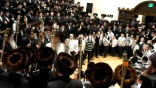 Dancing at Simchas Beis Hashoeva 2010