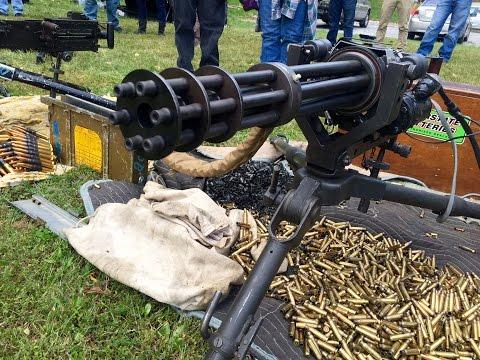 Machine Gun shoot 2015 - HK MP5, AK47, MG42, M16