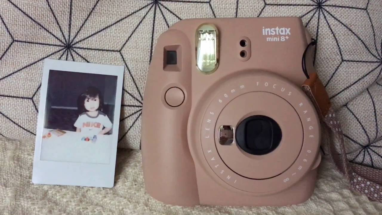 How to Use an Instax Mini Camera - YouTube