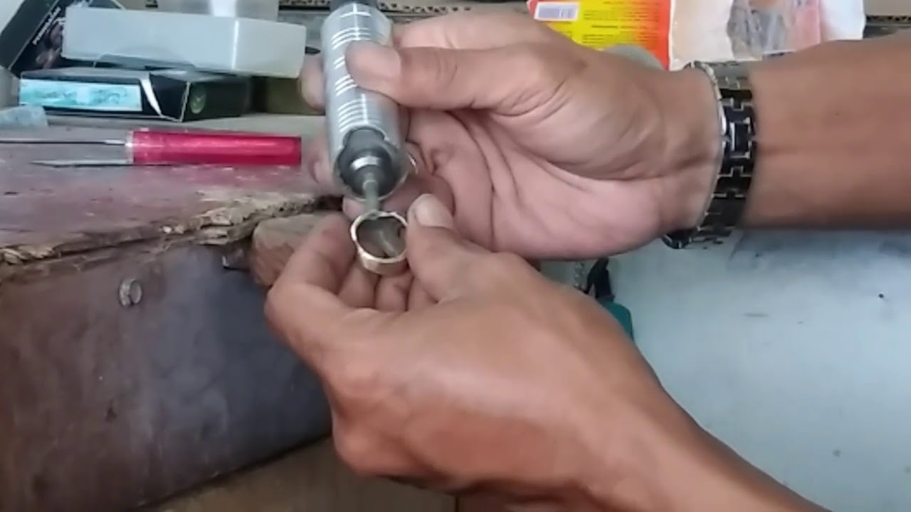 Just A Moment How To Shave Polish Agate With Brass Ring Sparkling