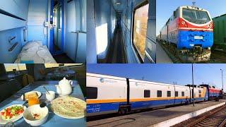 Germany To Kazakhstan By Rail - Part 7: Atyrau - Shymkent By Talgo Train In Grand Class Sleeping Car