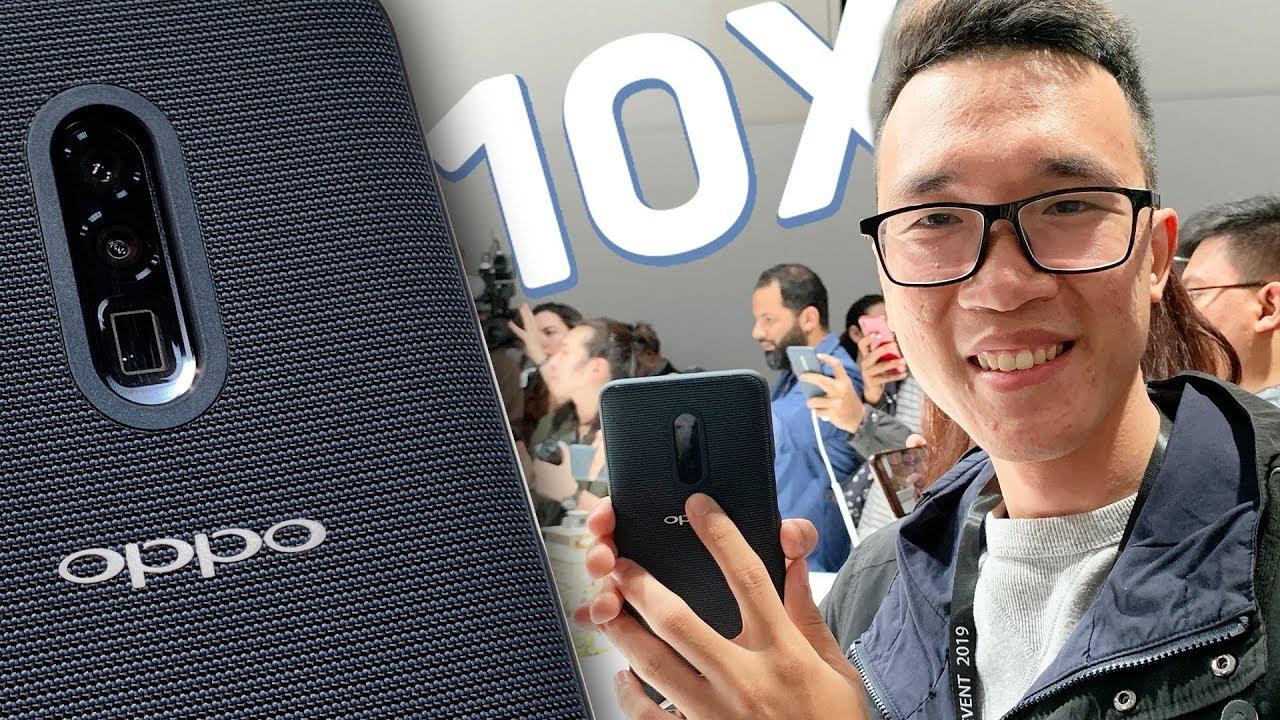 Trên tay smartphone zoom 10x khủng nhất thế giới