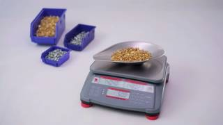 OHAUS Ranger and Ranger Count 2000 Scales - Features (EN)