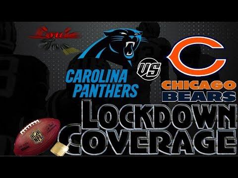 Lockdown Coverage | Carolina Panthers vs. Chicago Bears WK 7 Analysis | #LouieTeeLive