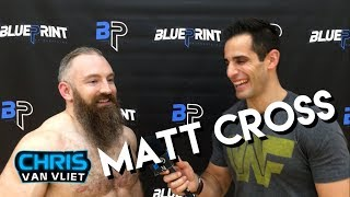 Matt Cross (Son of Havoc): Lucha Underground is the new ECW, Tough Enough, give me a shot on RAW