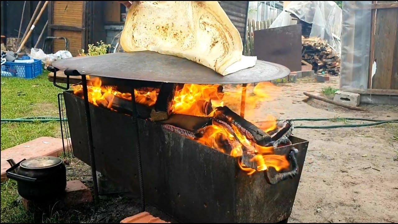 خبز التنور وتربية الدجاج والسمان في ألمانيا. جمال الحياة في بساطتها