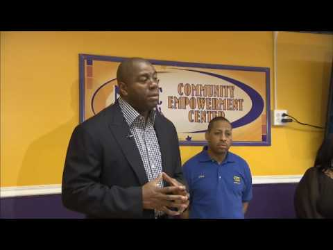 Best Buy and Magic Johnson Empowerment Center in Harlem, NY