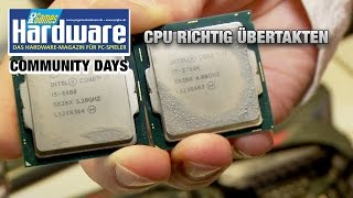 CPU richtig übertakten: Anleitung und Basiswissen
