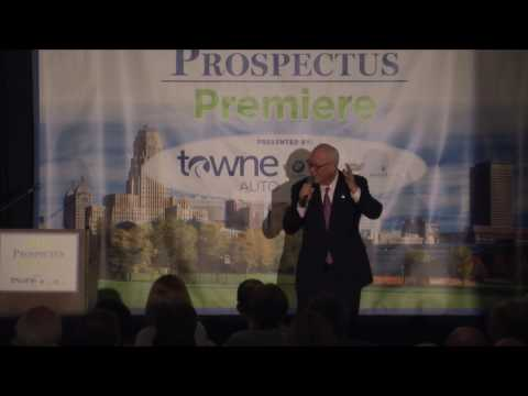 Full keynote address by J.P. Bak at The Buffalo News' 2017 Prospectus Premiere