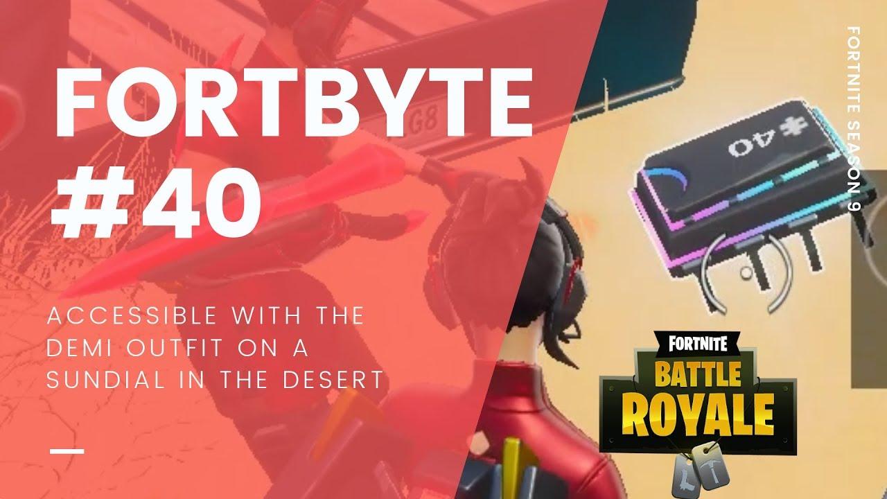 Fortnite Season 9 Fortbytes Locations Guide | All Fortbye