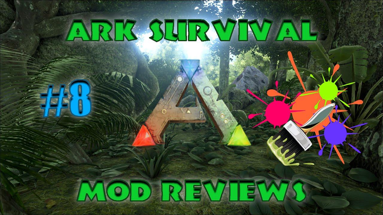 ARK SURVIVAL: Paint Mod Review! - YouTube