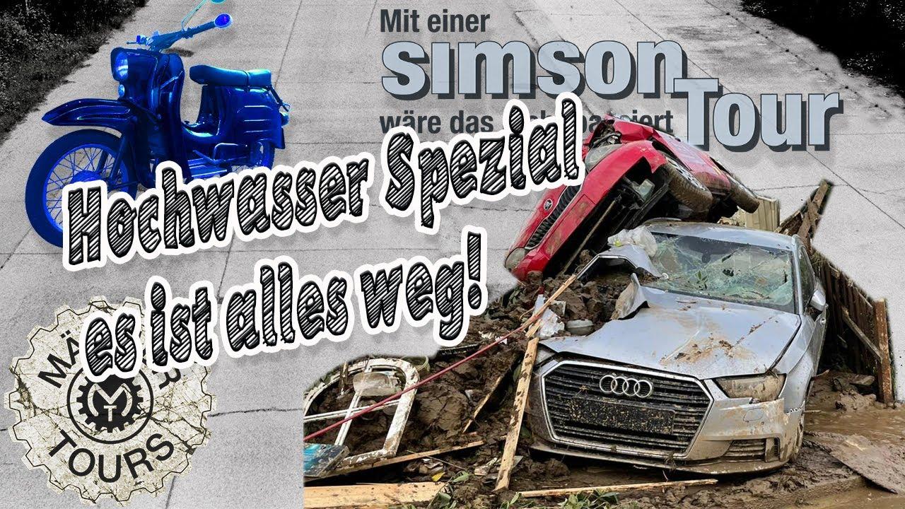 Simson Schwalbe Tour #Hochwasser Spezial  -  Alles weg!