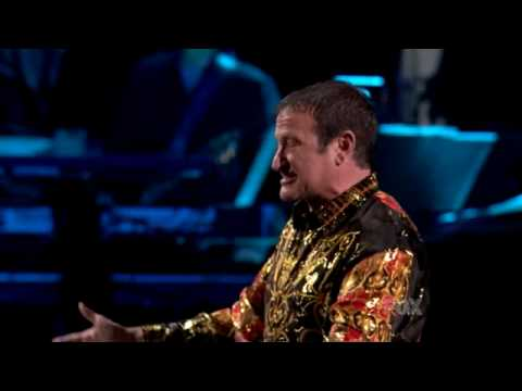 American Idol Robin Williams as Russian Idol - YouTube
