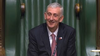 Sir Lindsay Hoyle elected speaker of House of Commons