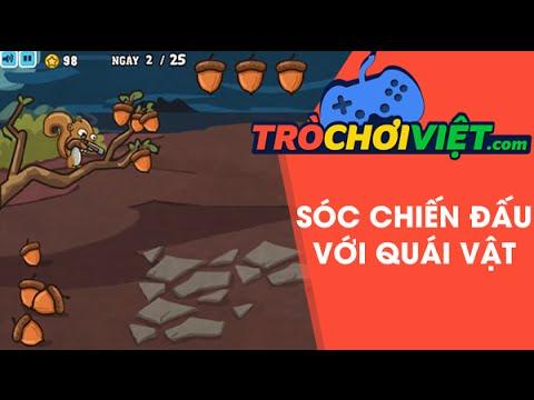 Game Sóc chiến đấu với quái vật – Video hướng dẫn cách chơi game