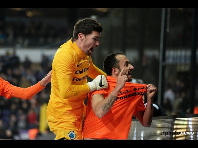 2014-2015 - RSC Anderlecht - Club Brugge - GOAL Victor Vazquez