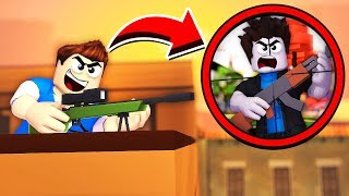 SNIPER VS SNIPER !? - Daycare (Roblox Roleplay)